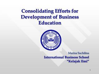 "Marina Suchilina International Business School ""Kelajak Ilmi"""