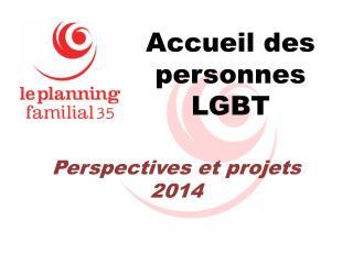 Accueil des personnes LGBT