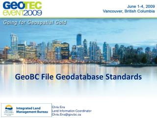 GeoBC File Geodatabase Standards