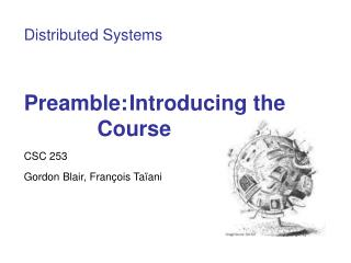 Preamble: Introducing the Course
