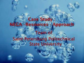 Case Study  : NEGA –Resources - Approach