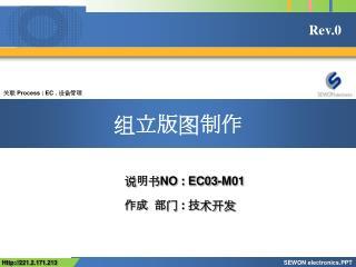 关联 Process :  EC .  设备管理