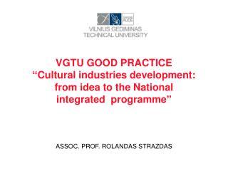 VGTU GOOD PRACTICE