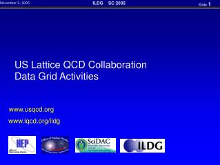 US Lattice QCD Collaboration Data Grid Activities