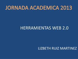 JORNADA ACADEMICA 2013