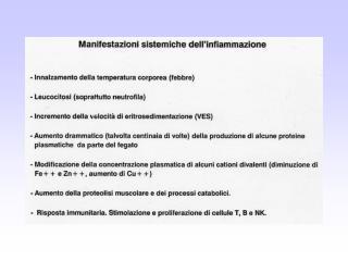 Leucocitosi e leucopenie