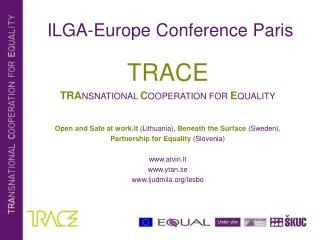 ILGA-Europe Conference Paris