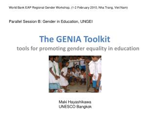 The GENIA Toolkit