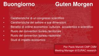 Pier Paolo  Mariotti  CMP CMM  Meeting Manager  di EURAC research