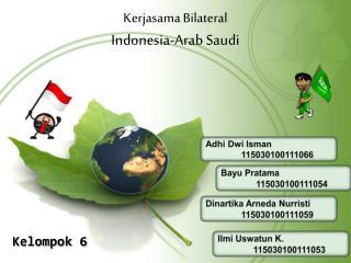 Kerjasama  Bilateral  Indonesia-Arab Saudi