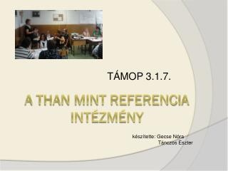 A Than mint referencia int�zm�ny