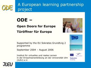 A European learning partnership project