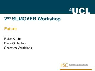 2 nd  SUMOVER Workshop Future