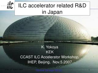 ILC accelerator related R&D in Japan