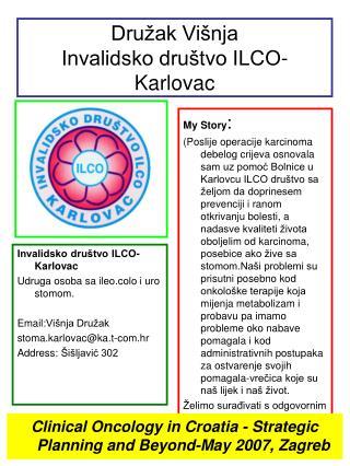 Družak Višnja Invalidsko društvo ILCO-Karlovac