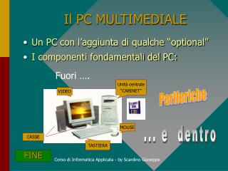 Il PC MULTIMEDIALE