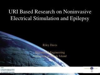 URI Based Research on Noninvasive Electrical Stimulation and Epilepsy