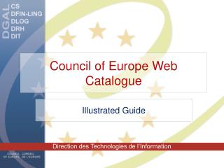 Council of Europe Web Catalogue
