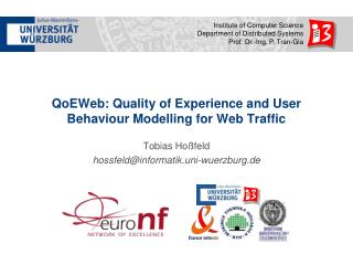 QoEWeb: Quality of Experience and User Behaviour Modelling for Web Traffic