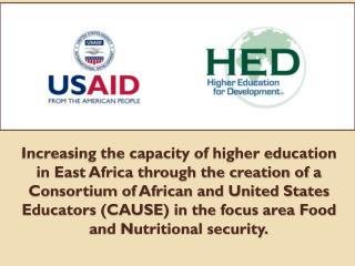 Universities in Ethiopia: Haramaya ,  Hawassa  and  Mekelle Universities in Kenya: