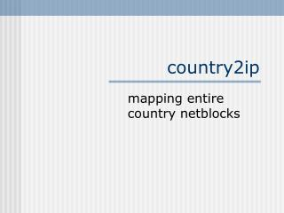 country2ip