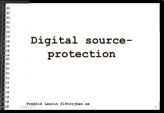 Digital source- protection