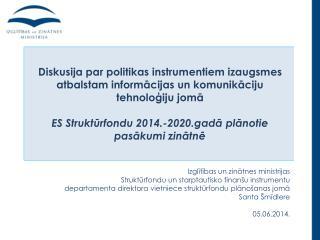 Izglītības un zinātnes ministrijas Struktūrfondu un starptautisko finanšu instrumentu