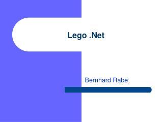Lego .Net