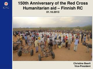 150th  Anniversary of the Red Cross Humanitarian aid – Finnish  RC 01.10.2013
