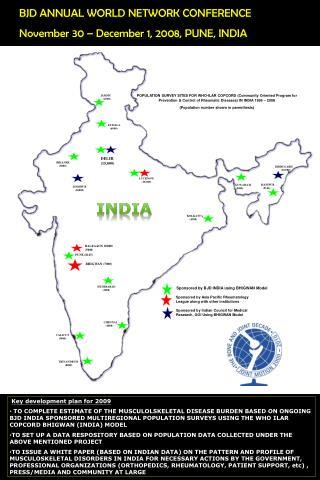 BJD ANNUAL WORLD NETWORK CONFERENCE November 30 – December 1, 2008, PUNE, INDIA