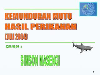 SIMSON MASENGI