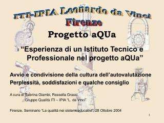 Progetto aQUa