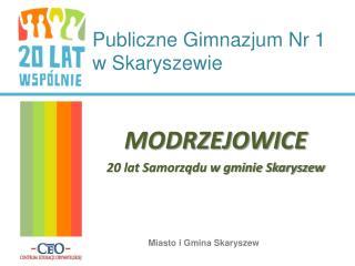 Publiczne Gimnazjum Nr 1  w Skaryszewie