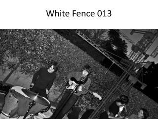 White Fence 013