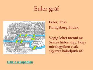 Euler gráf