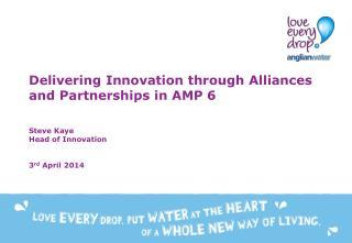 Innovation, collaboration, transformation