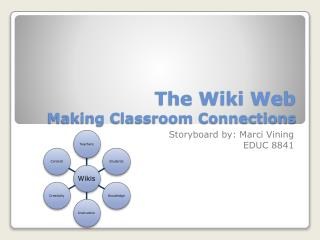 The Wiki Web Making Classroom Connections