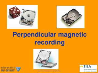 Perpendicular magnetic recording