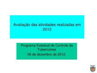 Metas Priorizadas 2012