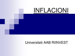 INFLACIONI
