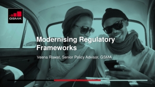 Policy and Regulatory Requirements for   Future Mobile Networks