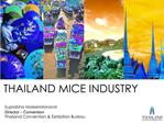Suprabha Moleeratanond Director   Convention Thailand Convention  Exhibition Bureau