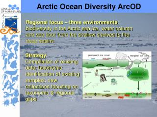 Arctic Ocean Diversity ArcOD