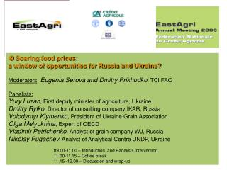  Soaring food prices: a window of opportunities for Russia and Ukraine?