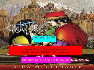 Aladin ... Isang Tagapagligtas