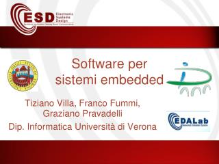 Software per sistemi embedded