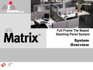 Full Frame Tile Based  Stacking Panel System