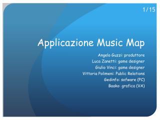 Applicazione Music  Map