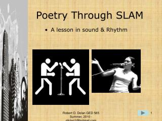 Poetry Through SLAM