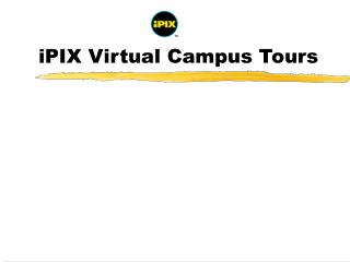 iPIX Virtual Campus Tours